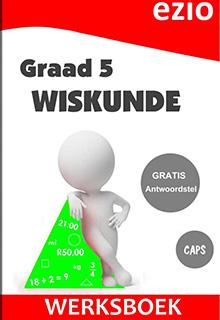 EZIO WISKUNDE GRAAD 5 WERKBOEK