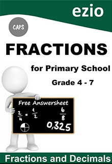 FRACTIONS GRADE 4-7 WORKBOOK