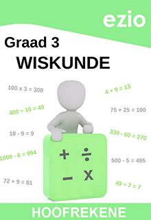 EZIO WISKUNDE GRAAD 3 HOOFREKENE WERKBOEK